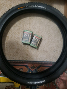 27.5 × 2.2 Continental Trail King + Maxxis Tubes