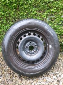 Continental Tyre Wheel 195/65/15