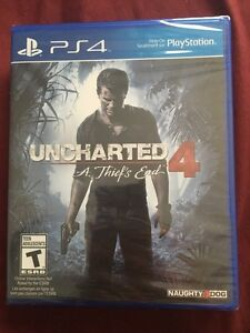 Uncharted 4 - brand new