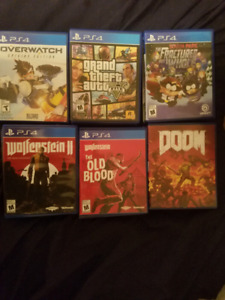 PS4 Games ( 11 Total )