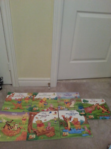 Disney books-  Winnie the Pooh and friends $2 each or 7 for $10