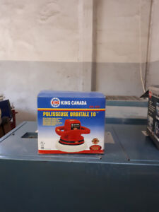 Polisseuse orbitale King Canada 10 pouces