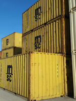 PRICE REDUCTION--USED 20 Ft.Containers Delivered to you!