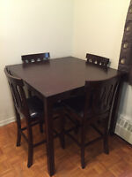 new price, dinner table with 4 chairs