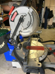 """Craftsman 10"""" Compound Mitre Saw  with Stand"""