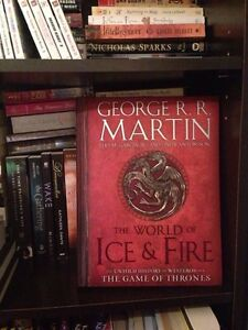 Brand new game of thrones untold history book