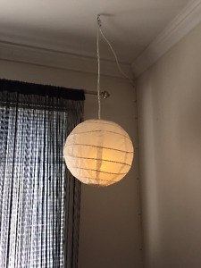 Round Ceiling Paper Lantern Light