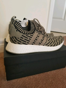 Adidas NMD R2 Trace Cargo Size 10 DS