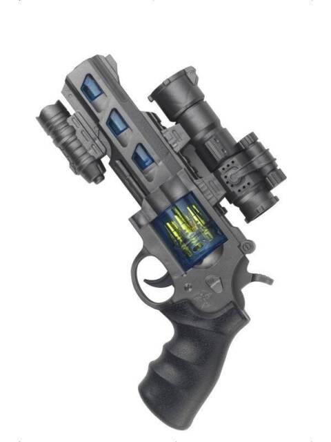 SPACE COP REVOLVER, TOY GUN