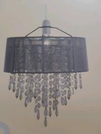 Elegant grey pendant ceiling light Shade NEW