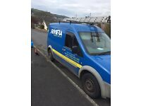 Ford transit connect window cleaning van & pure water system