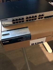 D-Link 16-Port Gigabit Switch w/ 4 SFP Ports (DGS-1210-20)