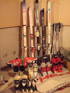 SKI EQUIPMENT - complete set for less than $ 100