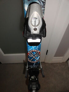 Unisex 130 Downhill Skis with Bindings