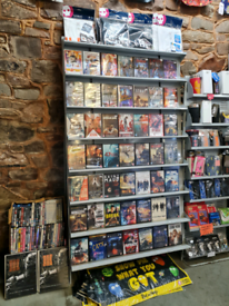 Dvd book display stand x2 available