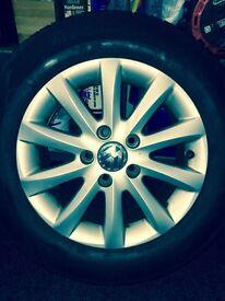 VW Alloy wheels 195/65 R15 £185