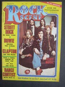 MAGAZINE  ROCK SCENE.  1975  VG ++(VOIR INFOS & PHOTOS)