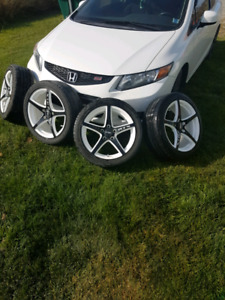 Rtx rims and tires (Like New)
