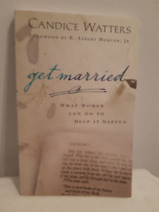 $5 - USED - Get Married by Candice Watters - Paperback