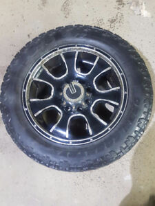 Used Mamba Rims and Toyo Tires