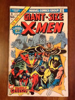 1975 Giant Size X-men 1 comic book first new team Wolverine