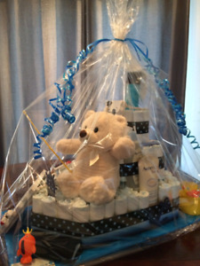 Baby shower / gâteau de couches / diaper cake