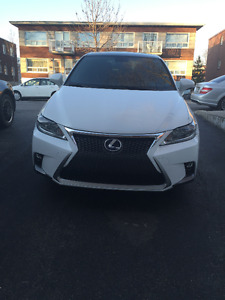 Lexus CT 200h SPORT 2015-LEASE TAKE OVER ONLY- 585$/m taxe incl.