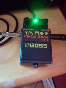 Boss Metal Zone MT-2    (( modded ))