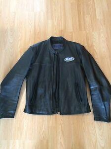 Manteau cuir Buell