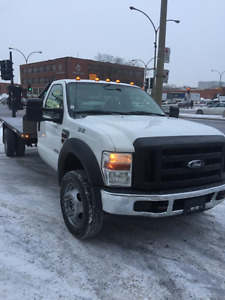 2010 Ford F-550 Flat bed Pickup Truck
