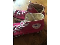 Pink All Star Converse size 6
