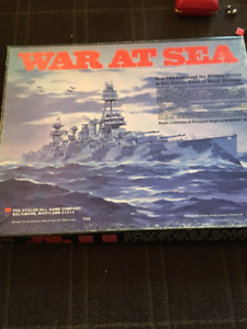 World War II Board Games - War At Sea/Patton/Pacific