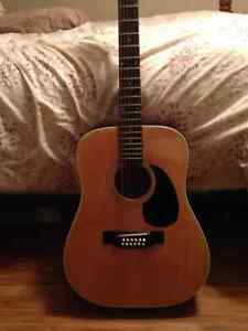 12 String Fender Acoustic Guitar