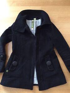 Black Soia & Kyo Winter Jacket - Size Small