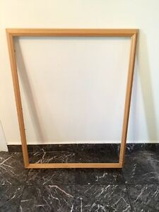 Solid wood frame 26x33""