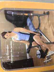 NEW IN BOX - WEIGHT BENCH WITH ARM/LEG CURL Kitchener / Waterloo Kitchener Area image 3