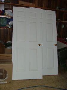 Five Interior house doors