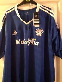 Cardiff city football shirt 3XL