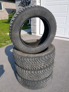 FREE: Four 215/65R17 98S Goodyear Nordic Winter Tires