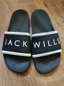 Ladies Jack Wills flip flops size 5 for sale  Farnham, Surrey