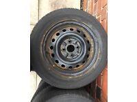 X4 steel wheel - 4stud (175-65-14)