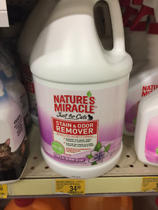 Miracle Cats stain and odor remover