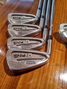 Ping S58 Irons 3-PW Left Hand Project X 5.5