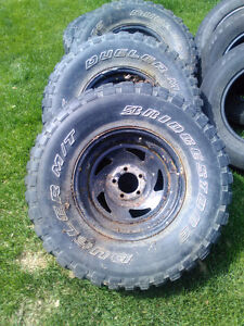 Jeep YJ rims and tires