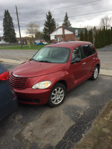 2008 PT CRUISER LS RED LOW MILLAGE AND CERTAFIED
