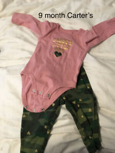 9 month girl  outfit