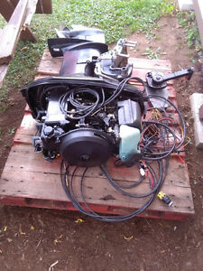 1999 40hp Mariner outboard with controls