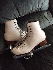 Real figure skates
