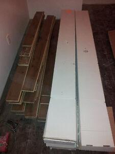 140 pc de bois franc pour plancher