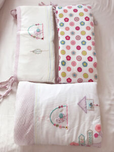 baby crib bumper set and duvet(quilt)